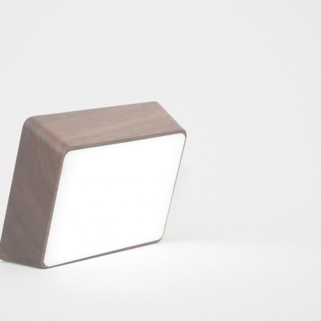 Wood Brick Lamp by HCWD Studio/ HYFEN on Qrator.com!