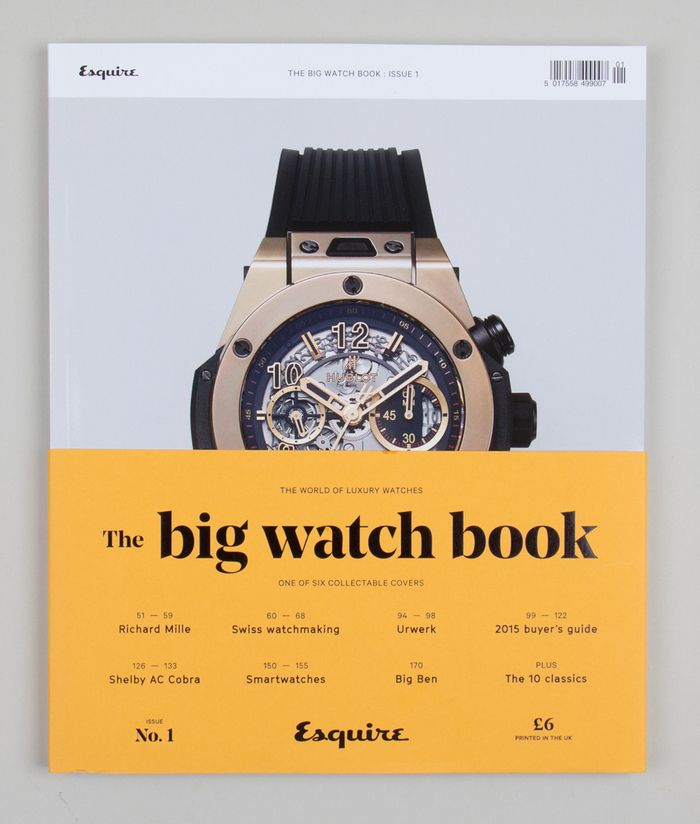 Esquire magazine cover editorial layout design typography color