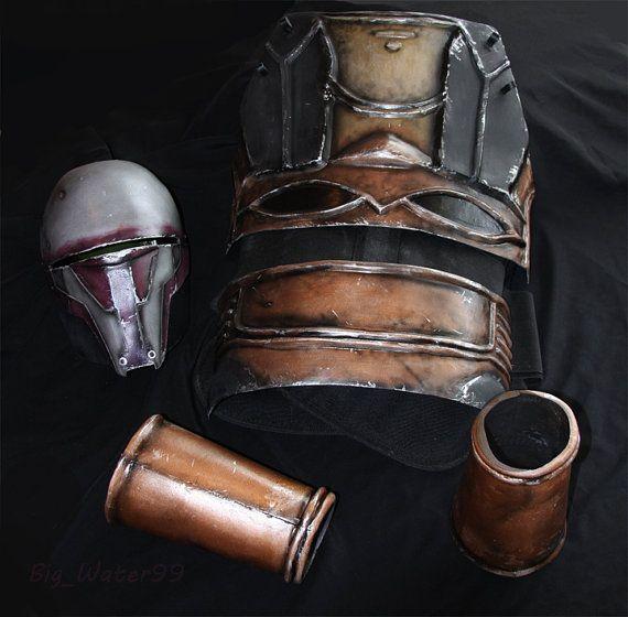 Darth Rüstungsset Revan Star Wars Helm Prop Rüstung von Bigwater99