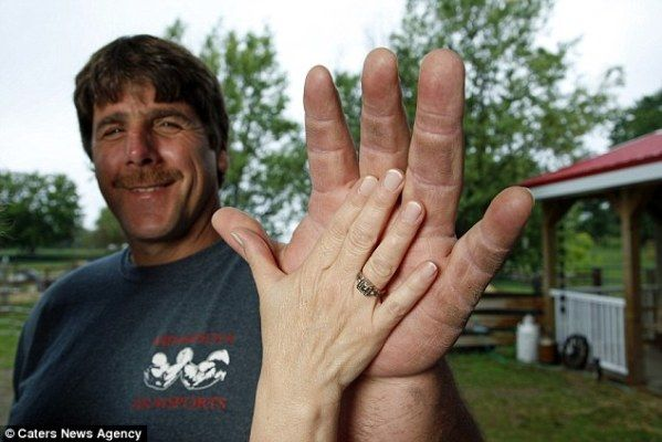Meet The Real-Life Popeye Who's An Arm Wrestling Champ