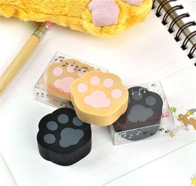 Kutusita Nyanko Paw Eraser