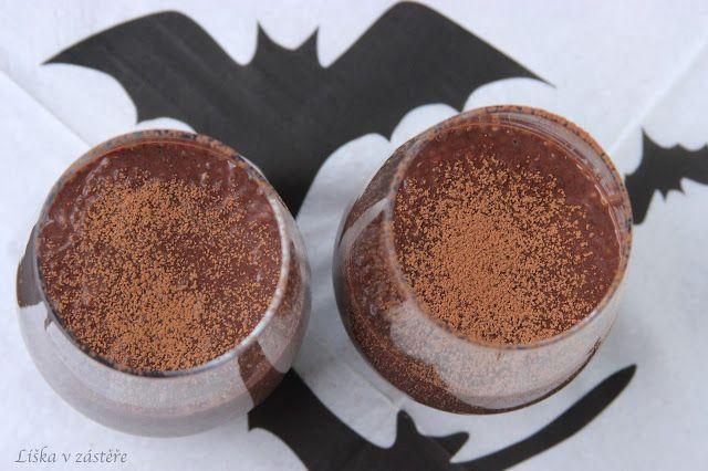 Extra chocolate chia pudding   Extra čokoládový chia pudink