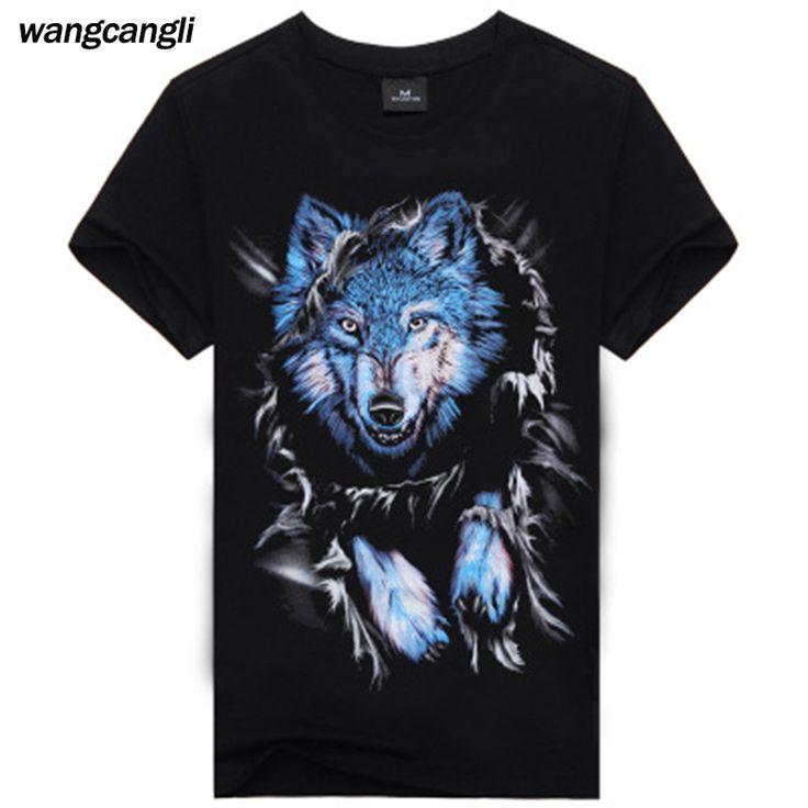 3D harajuku 2018 Summer Funny Gorillaz game of thrones wolf Men's T-shirt hip hop compression tshirt Print punisher Large size