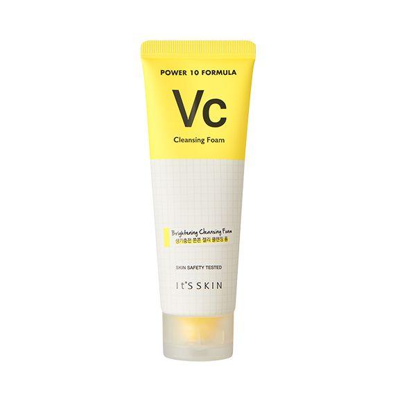 Power 10 Formula Пенка для лица VC, 805.00 руб.   Power 10 Formula Очищающая пенка-гель для каждого типа кожи    Пенка для умывания содержит витамин С, экстракт зеленого чая, полиглутаминовую кислоту и т.д.      Гелевая пенка с эластичной текстурой, создает пену похожую на взбитые сливки, легко очищает кожу от загрязнений и следов макияжа.      Восстанавливает яркость тусклой кожи, ухаживает за жирной кожей, способствуя сохранению ее свежести.        ▶ Рекомендации:      Клиентам с…
