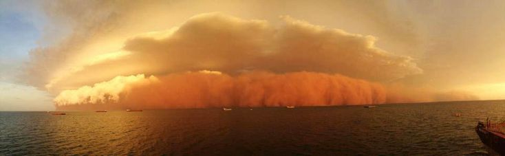 Red Wave' Dust Storm Hits Western Australia