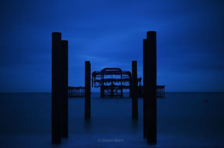 Brighton west pier © Gibson