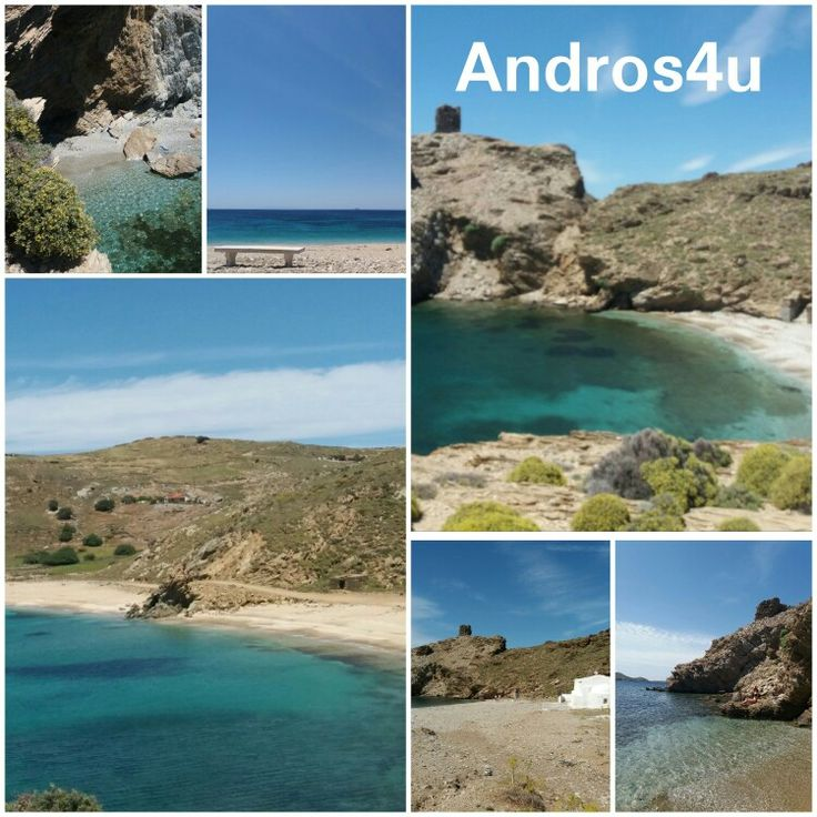 Beaches in Andros Island
