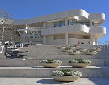 How to See the Getty Museum: It's More Than Just Exhibits: Getty Museum Entrance