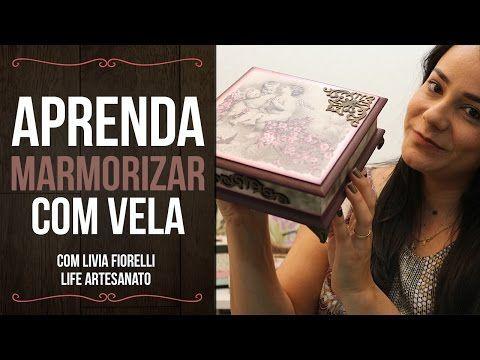 DIY | Faça Você Mesmo | Baú Envelhecido | Livia Fiorelli | Life Artesanato - YouTube