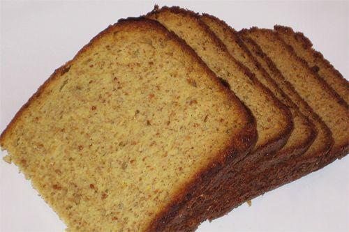 Хлеб без крахмала на кокосовой муке