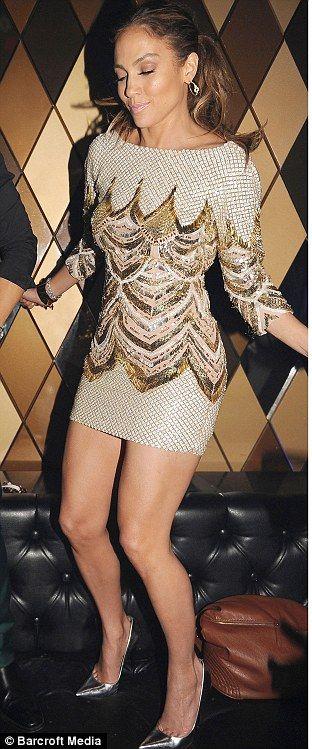 Jennifer Lopez + dress