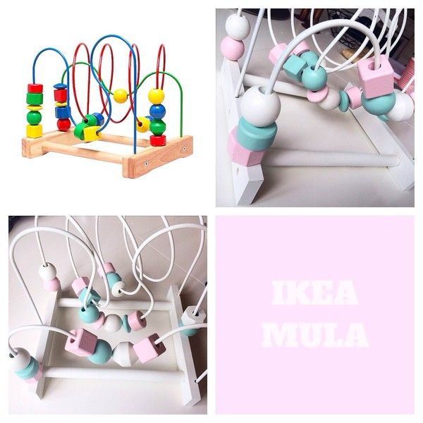 Ikea hack, diy, ikea Mula, kulbana, måla, paint, tuunaaminen, ikea toys, wood, bullet track, kuularata