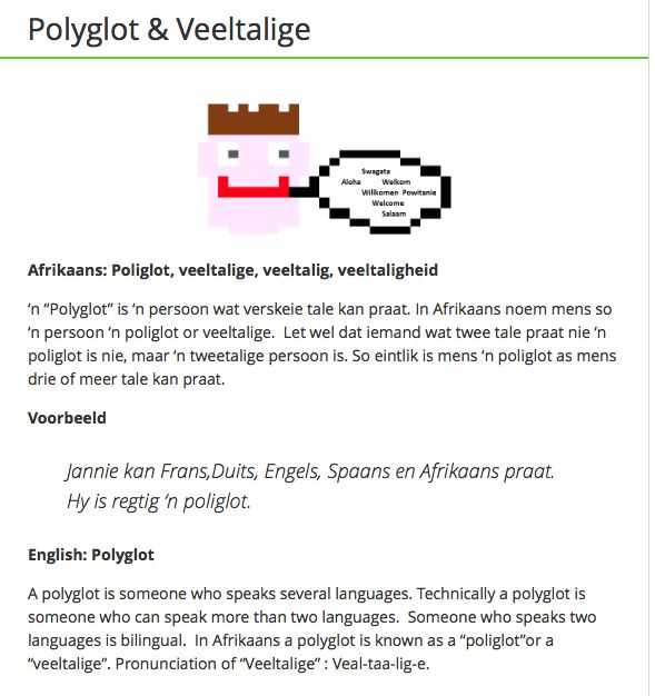 Polyglot & Veeltalige
