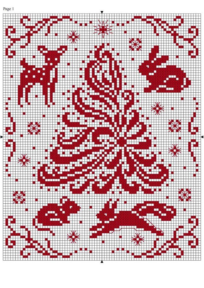 Cross stitch Christmas *♥* Point de croix Noël