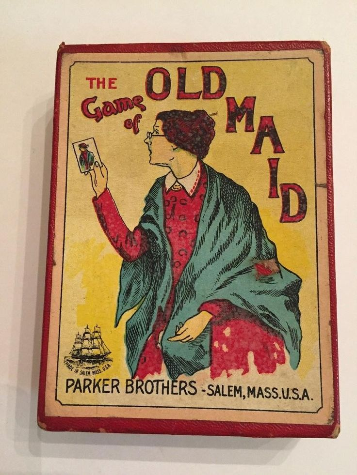 Old maid card game old games old cards games