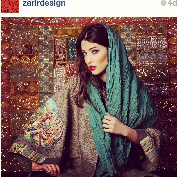 Zarir design. Tehran, Iran. I like this but whats with the cheekbone line :p