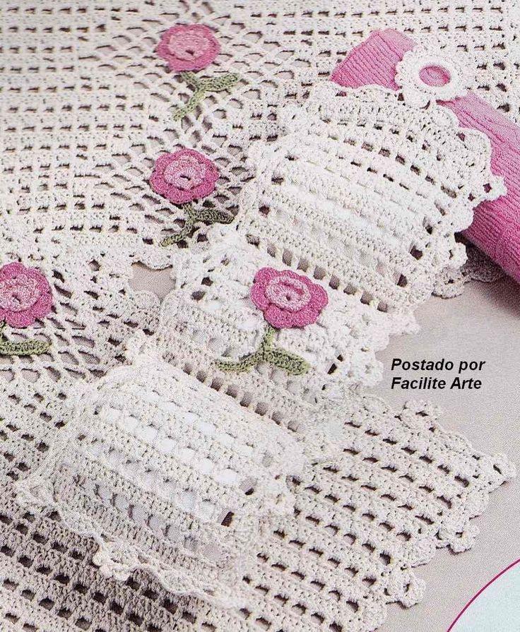 25 Melhores Ideias Sobre Porta Papel De Croche No