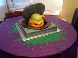 Resultado de imagem para ninja turtle cake