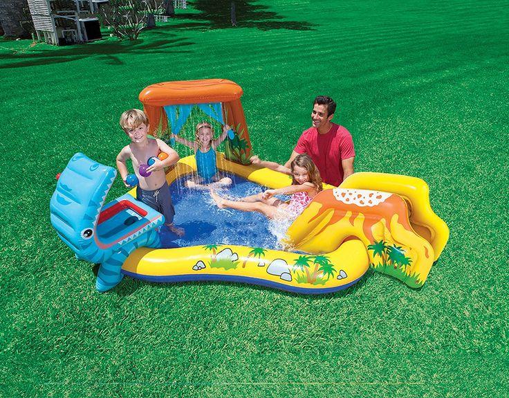 Piscina gonfiabile per bambini con scivolo Intex 57444NP: Amazon.it: Giochi e giocattoli