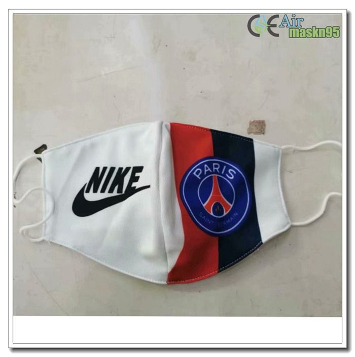 Gas Psg Face Mask For Football Protection Halbmaske In 2020 Football Facemask Psg Mask