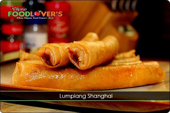 Lumpiang Shanghai (Pork Roll) @ http://www.filipino-food-lovers.com/lumpia-shanghai/