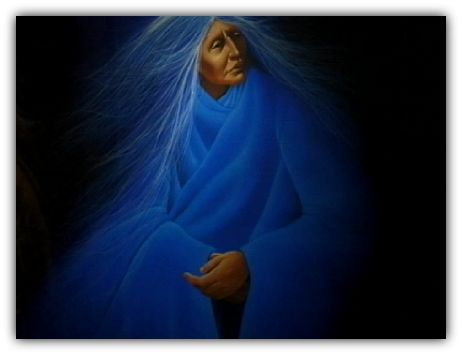The wisdom of the crone cannot be underestimated. In her archetypal form, she embodies the sum total of the lived experience of all women. She is the one we tap into when we seek guidance, when we get real quiet and listen to the soft cracked whisper of a voice that spirals back through the ages. You know that voice; it's the one that speaks with such a fierce compassion that it cuts through all of the fluff and all of the bullshit. The voice that strips everything back to reveal the kernel…