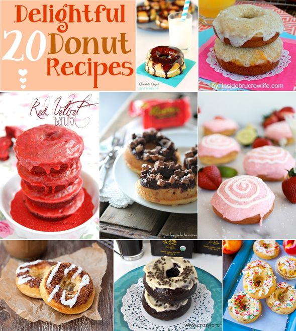 20 Delightful Donut Recipes