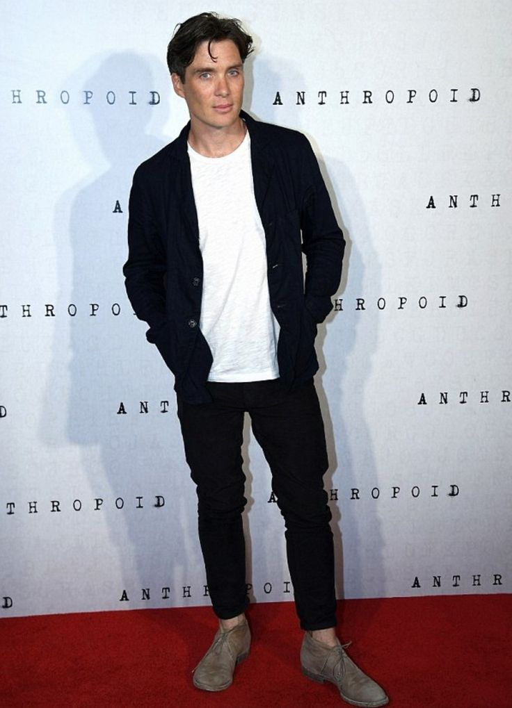 Cillian Murphy at the Anthropoid premiere 💙 | Jamie dornan ...