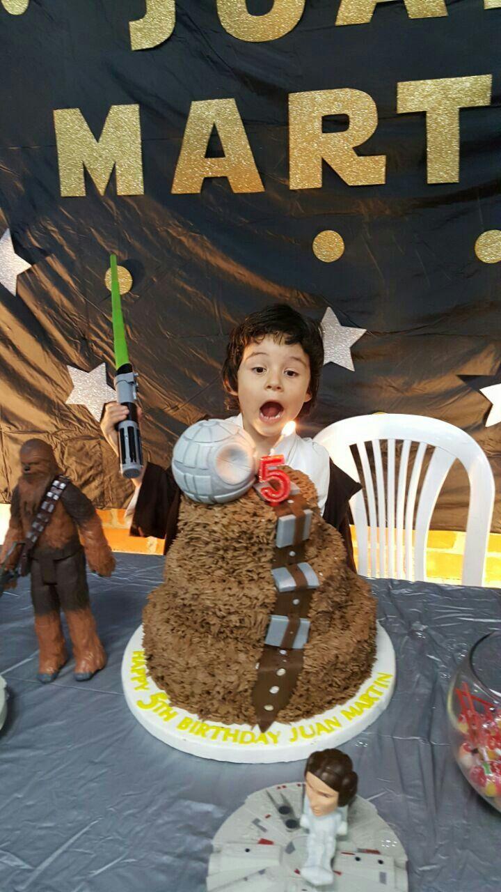 cake chewbacca star wars