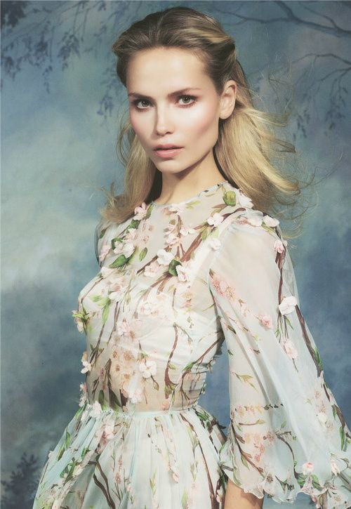 Natasha Poly by Cuneyt Akeroglu for Antidote S/S 2014, the Romance Issue