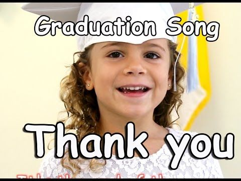 Graduation Song | Thank you | Children's song | Graduation Lyrics | Patty Shukla - YouTube