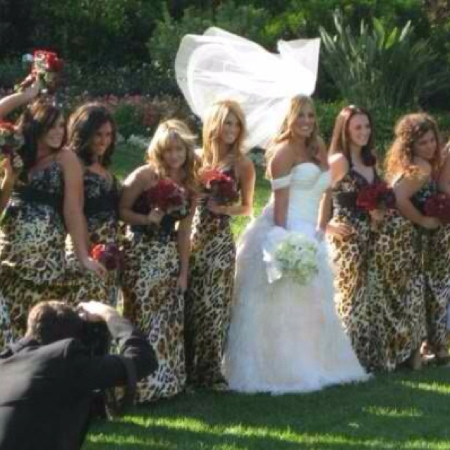 My best friends wedding #leopard