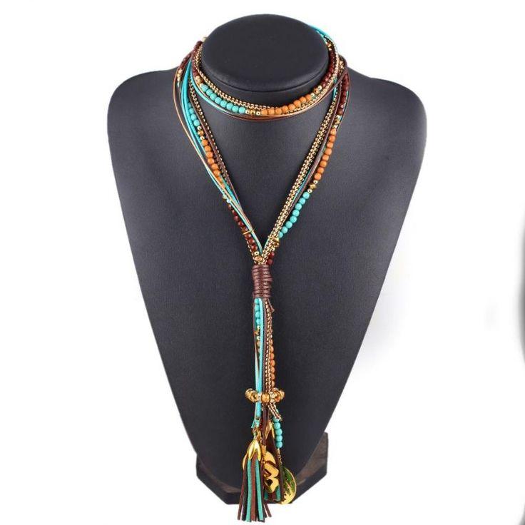 Compra Collar Harmonie Accesorios Maxi Cuentas Multiple Capas Verde Multicolor online ✓ Encuentra los mejores productos Collares de cuello de moda Harmonie Accesorios en Linio Colombia ✓