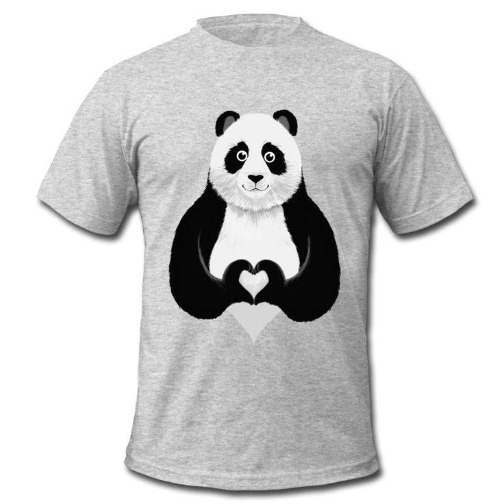 Süßer Panda Herz Hand ZeichenTolles Motiv als Geschenk zu Weihnachten, Geburtstag, Valentinstag, Hochzeitstag, Junggesellenabschied, an beste Freunde, Großer Bruder, Große Schwester, Paare Kleiner Bruder, Kleine Schwester.