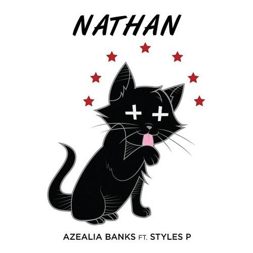 "Single Artwork for ""Nathan"" by Azealia Banks #cat #art ..."