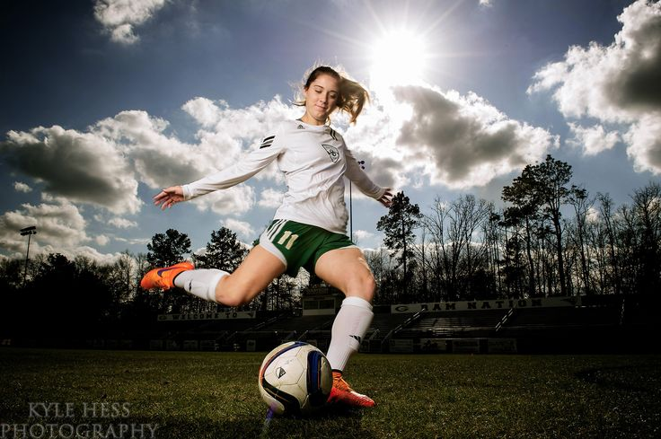 Soccer Portrait - Super Six - Ella Stevens is photographed for a Super Six project with the Gwinnett Daily Post at Grayson High School in Grayson, Georgia.