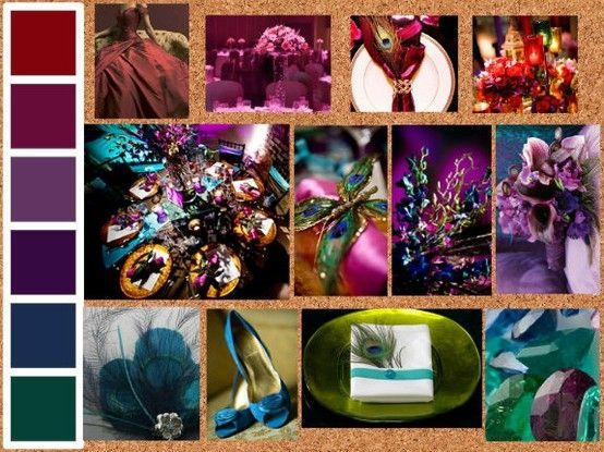 Pinterest discover and save creative ideas - Jewel tones color palette ...