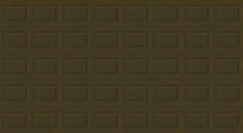 Ideal 5 star 16 39 x 8 39 chocolate insulated garage door for 16 x 8 garage door