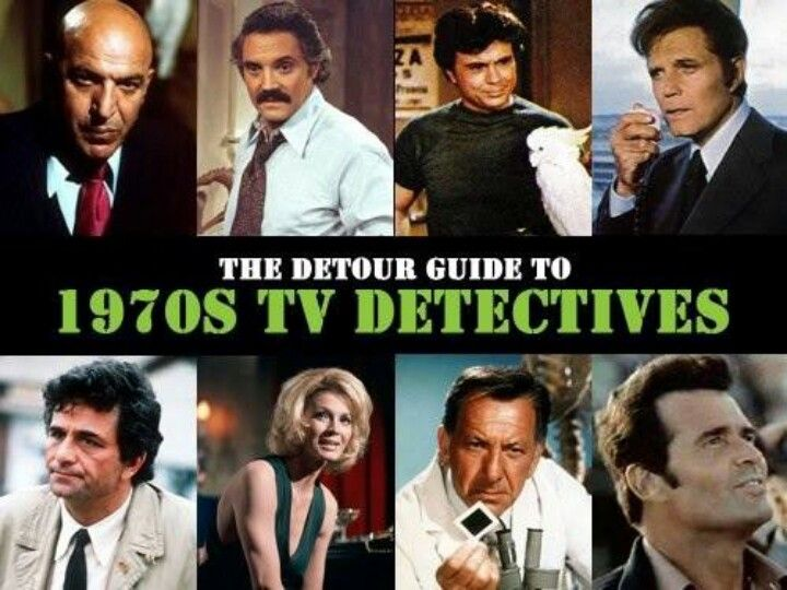 1970's TV Detectives.. Yep, we watched all of these at my house, as well as Starsky and Hutch.