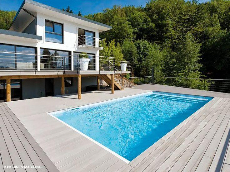 77 best la piscine id ale pour ma villa images on for Piscine coque polyester villefranche sur saone