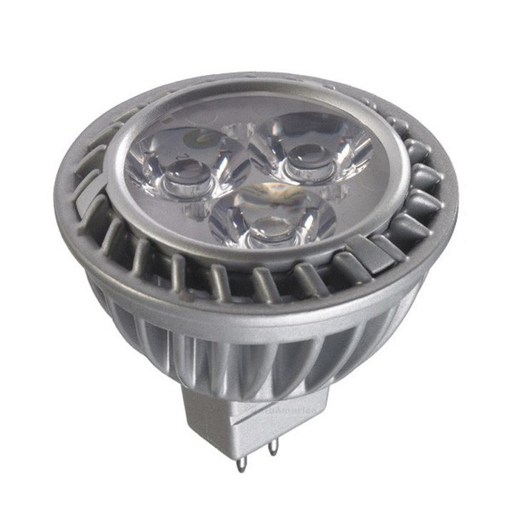 GE 7w MR16 LED Bulb Dimmable Narrow Flood 430Lm Cool White lamp