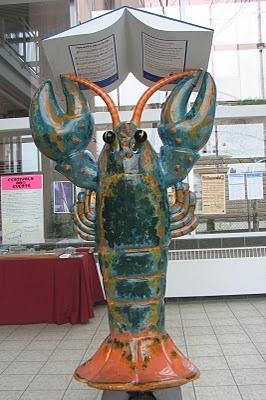 Lobster at Dartmouth Ferry Terminal, Nova Scotia, Canada