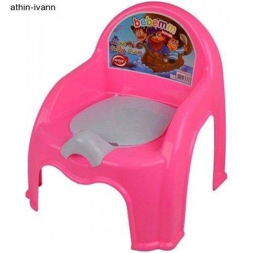 Potty Chair Seat Training Baby Lid Pink Toilet Seat Easy Clean With Removable  #PottyChairSeat