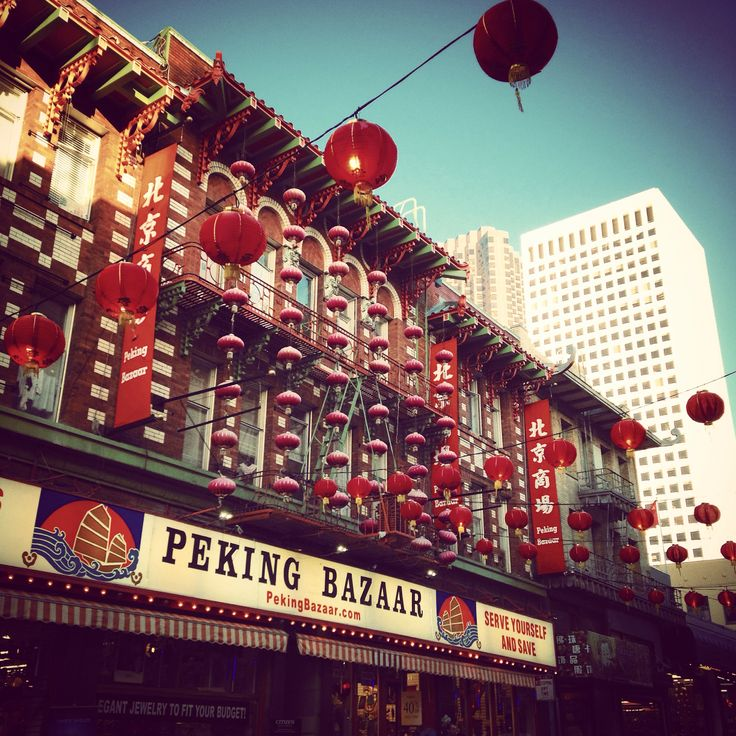 Chinatown- San Francisco