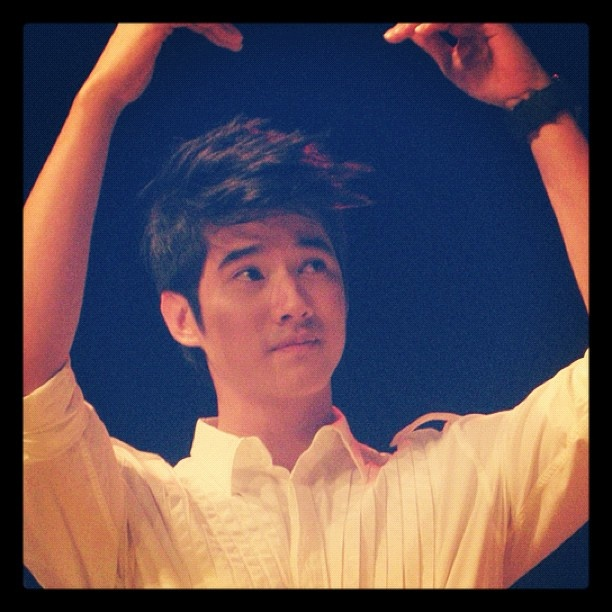 "Mario Maurer ""hearts"" the Philippines - @cherrypineda- #webstagram"