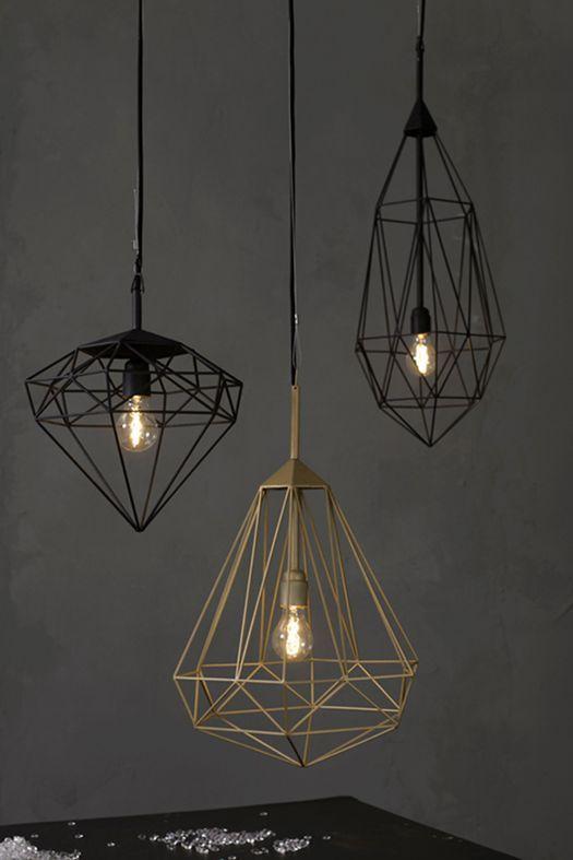 luminaire suspension fil or