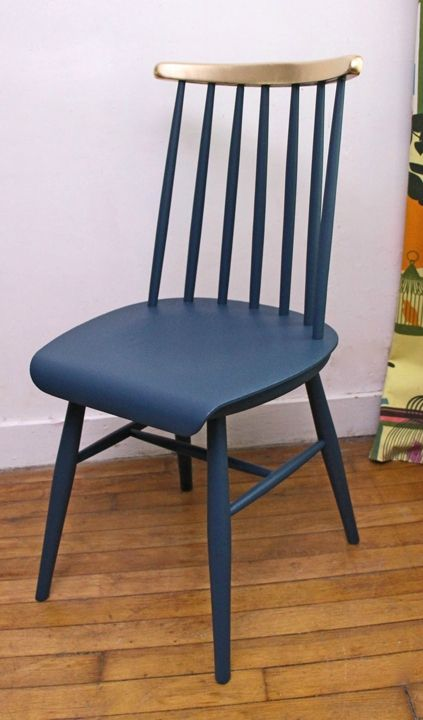 17 meilleures images propos de chaise relook e sur pinterest chaises peintes pastel et meubles. Black Bedroom Furniture Sets. Home Design Ideas