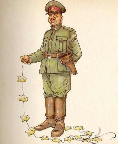 Coronel Aureliano Buendia: Es el segundo hijo de la familia y la primera persona que nace en Macondo
