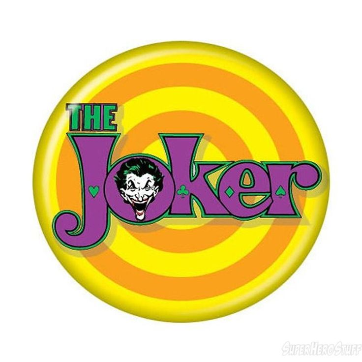 Images of Joker Logo Button