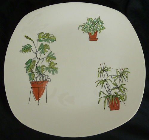 Midwinter Plant Life Dinner Plate ....Terence Conran | eBay